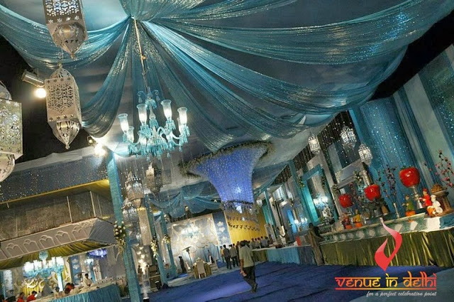 Booking the best banquet hall in Delhi